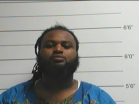 Cardell Hayes is seen in a booking photo released by the New Orleans Police Department, in New Orleans, Louisiana April 10, 2016. REUTERS/New Orleans Police Department/Handout via Reuters