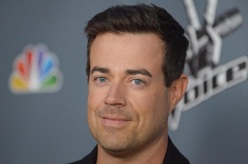 "FILE - In this March 20, 2013 file photo, Carson Daly arrives at the 4th season premiere screening of ""The Voice"" at the TCL Theatre, in Los Angeles. NBC said Wednesday, April 10, 2013,  that  ""Last Call with Carson Daly"" has been renewed for a 13th season. (Photo by Richard Shotwell/Invision/AP, File)"