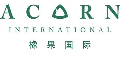 Acorn International Inc.'s new corporate logo (PRNewsfoto/Acorn International, Inc.)