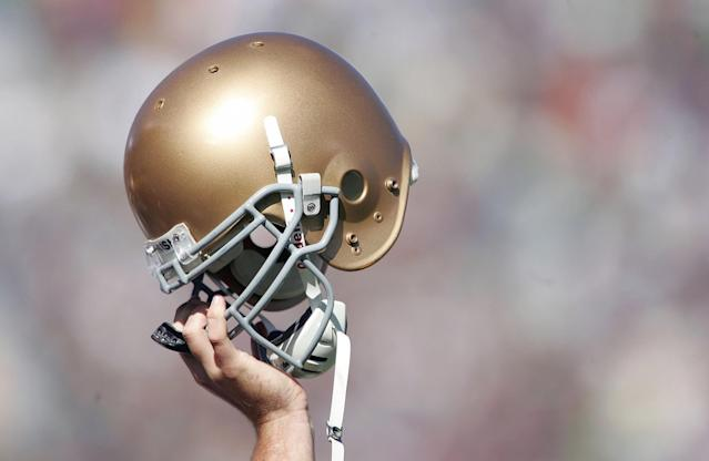 Notre Dame went to the BCS Championship Game after the 2012 season. (Getty)