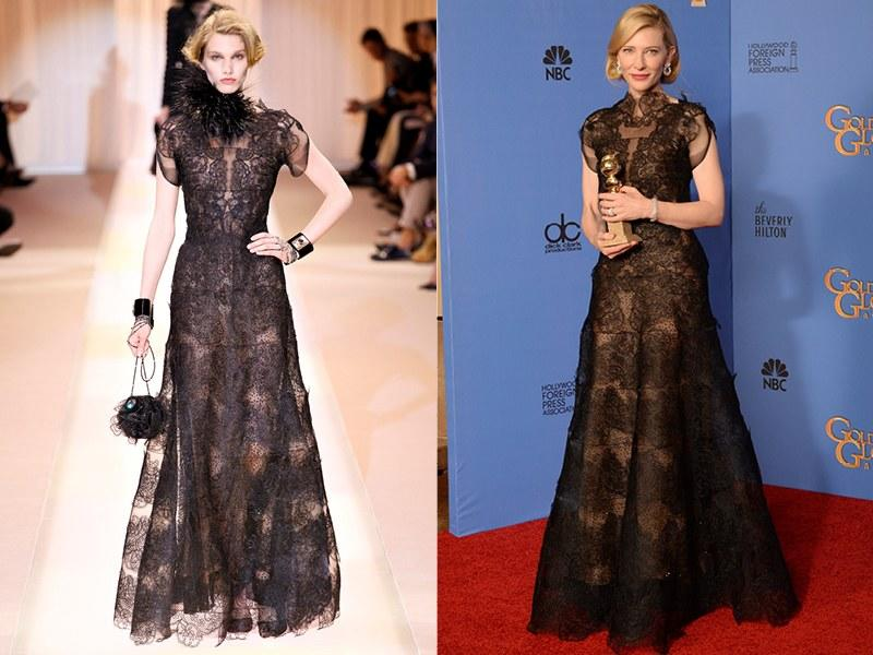 Armani Privé Fall 2013; Cate Blanchett in 2014