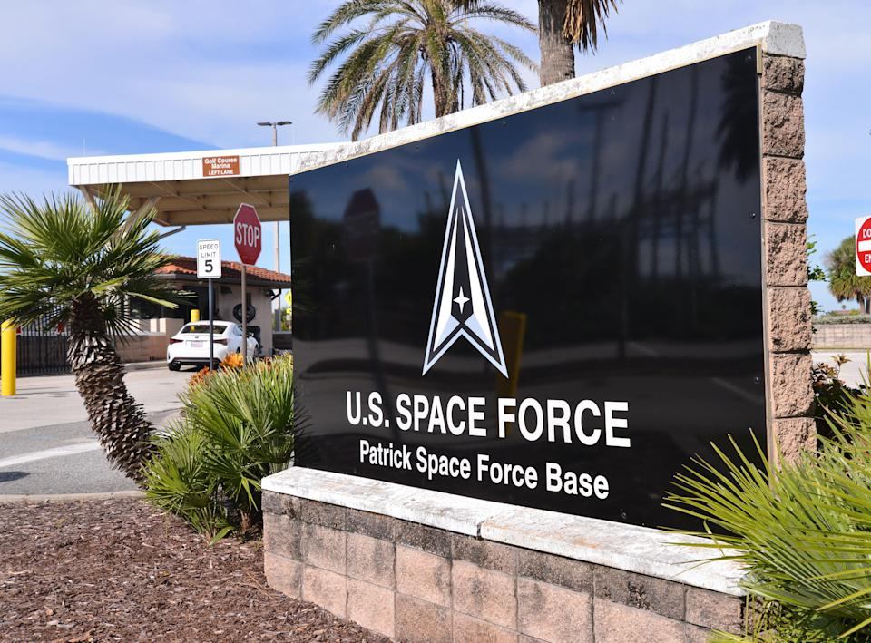 Patrick Space Force Base near Cocoa Beach, Fla., is an operations training center of the U.S. Space Force.