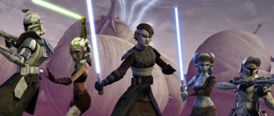 Anakin and Ahsoka get ready for battle. (Photo: Lucasfilm)