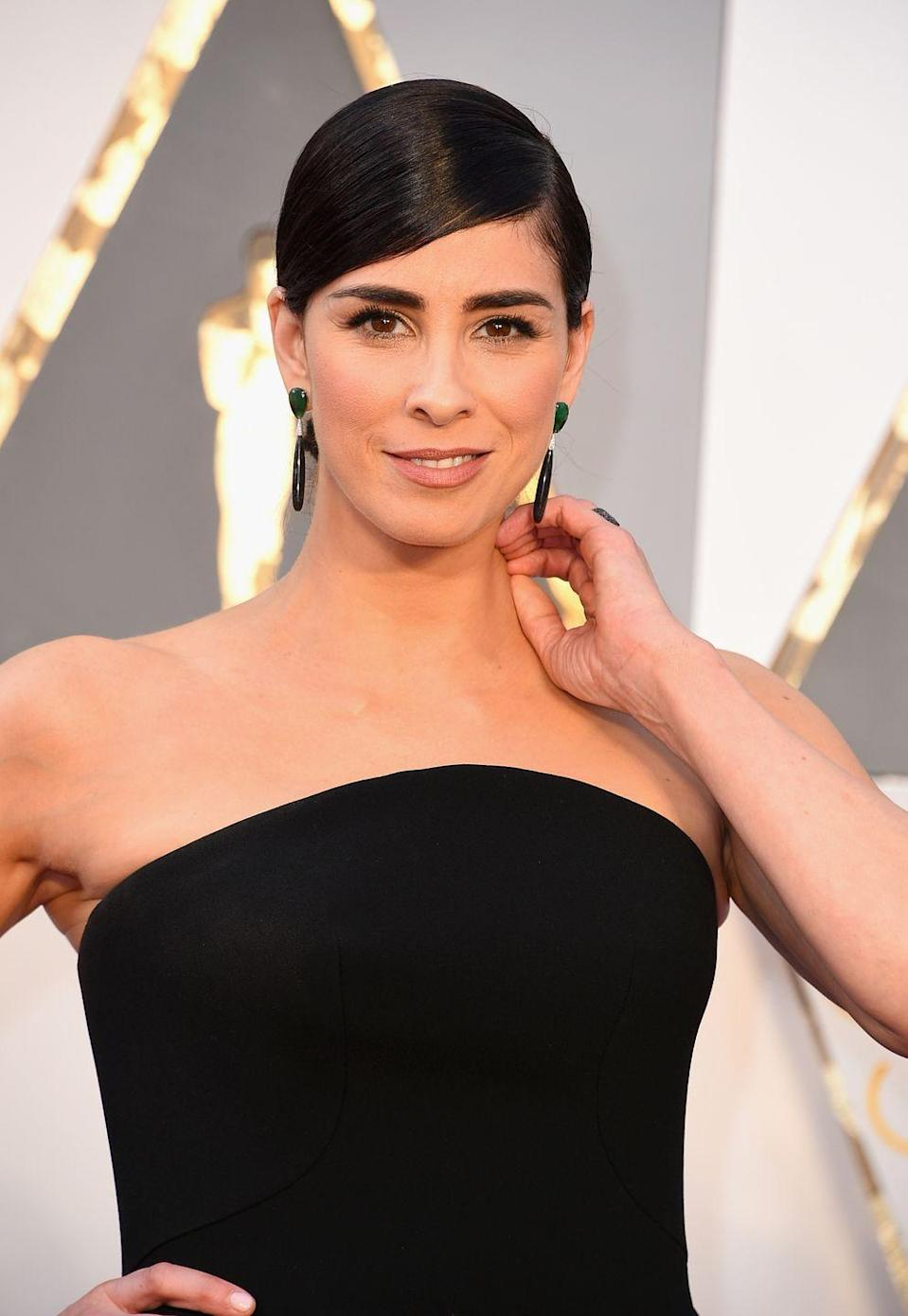 "<p>""People use 'panic attack' very casually out here in Los Angeles,"" she told <a href=""http://www.glamour.com/story/sarah-silverman-on-i-smile-back-and-battle-with-depression"" rel=""nofollow noopener"" target=""_blank"" data-ylk=""slk:Glamour"" class=""link rapid-noclick-resp"">Glamour</a>. ""But I don't think most of them really know what it is. Every breath is laboured. You are dying. You are going to die. It's terrifying. And then when the attack is over, the depression is still there...I wouldn't wish depression on anyone. But if you ever experience it, or are experiencing it right now, just know that on the other side, the little joys in life will be that much sweeter. The tough times, the days when you're just a ball on the floor-they'll pass. You're playing the long game and life is totally worth it.""</p>"