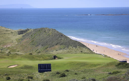 Mystery, excitement for British Open's return to Portrush