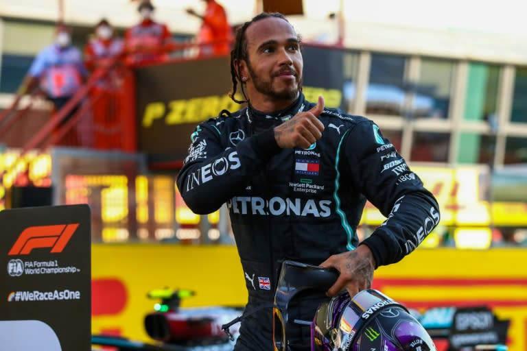 F1 champion Hamilton vows to boost diversity in motorsport