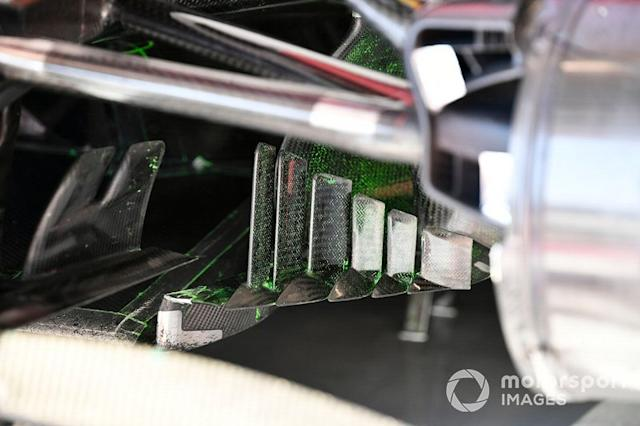 "Detalle aerodinámico del Alfa Romeo Racing C39 <span class=""copyright"">Mark Sutton / Motorsport Images</span>"