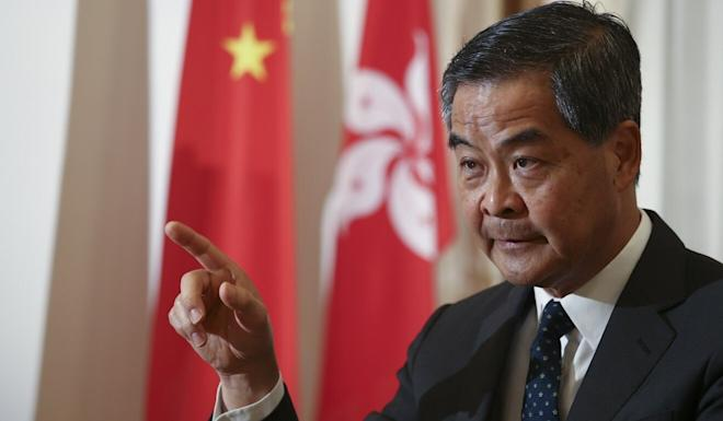 Leung Chun-ying has criticised education officials. Photo: Nora Tam
