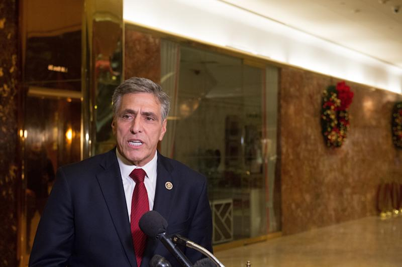 Rep. Lou Barletta (R-Pa.) is seen in November 2016. (BRYAN R. SMITH via Getty Images)