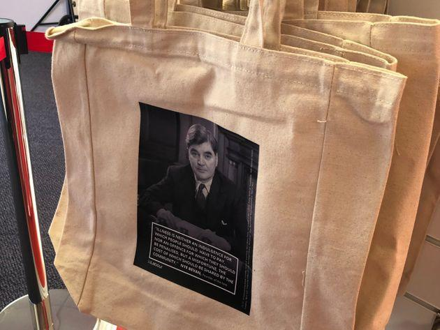 Nye Bevan tote bag on sale at Labour party conference (Photo: HuffPost UK)