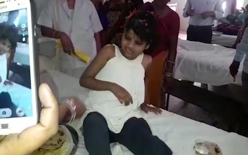 Indian police are reviewing reports of missing children from recent years to try to identify the girl who was found in a forest with a group of monkeys - KK Productions
