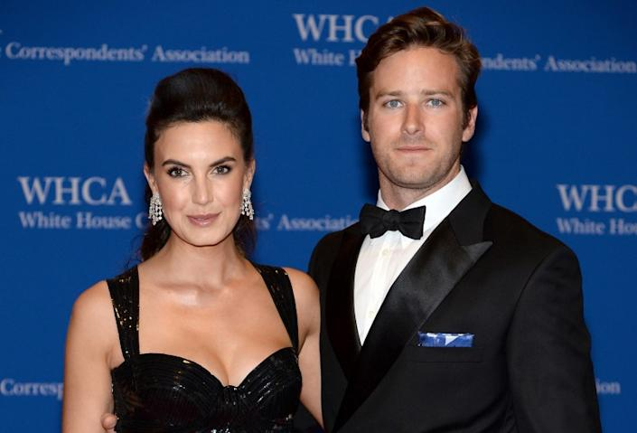 """The """"Lone Ranger"""" actor and his TV host wife, Elizabeth Chambers, are soon to be first-time parents. The pair tied the knot in 2010 and celebrated their four-year anniversary on May 22."""