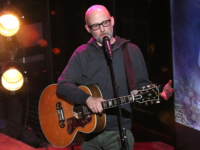 Moby has spoken about the many reasons he has for following a vegan diet.