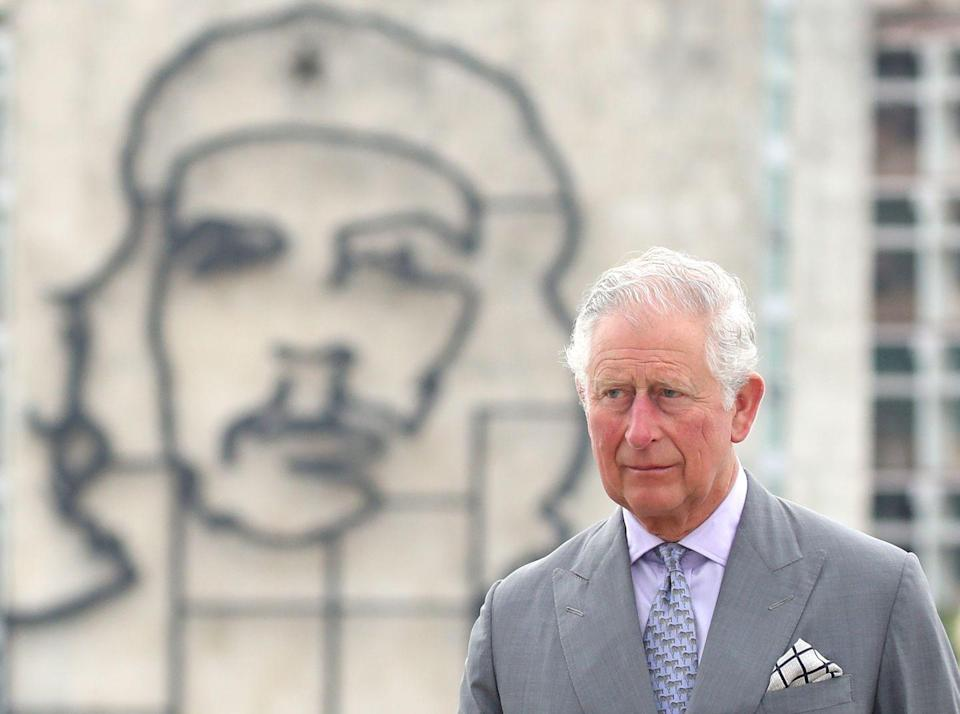 <p>This striking image of Prince Charles in front of a depiction of Che Guevera came out of the royal's historic visit to Cuba. </p>