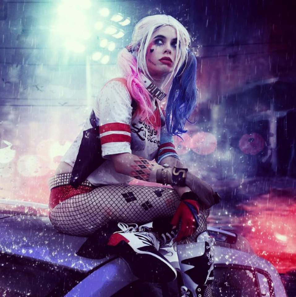 harley quinn suicide squad - 728×1092