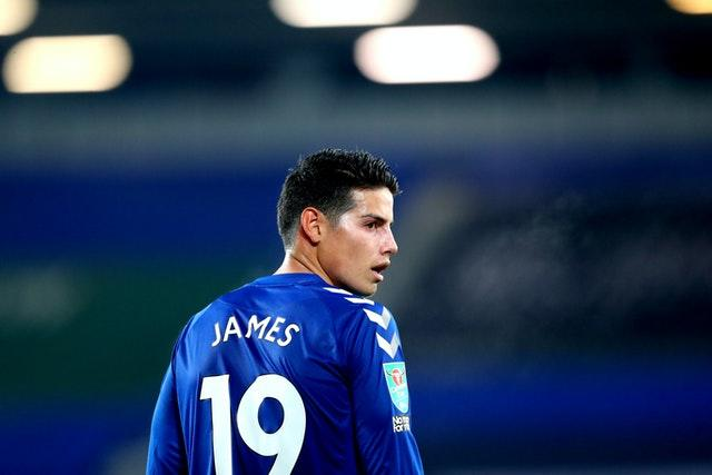 James Rodriguez has made an immediate impact at Everton