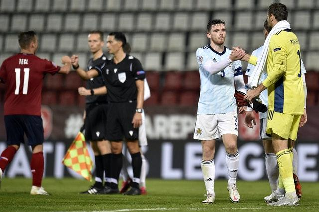 Scotland extended their unbeaten run to five matches with the victory in Olomouc