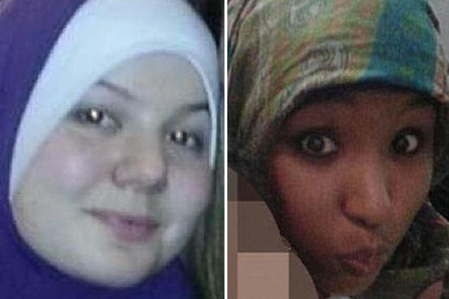 Sydney woman Hafsa Mohamed (left) became a jihadi bride, while Zehra Duman (right) has recruited brides for IS fighters.