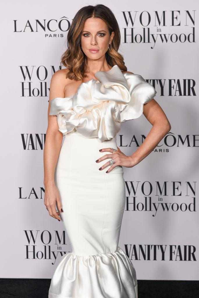 Kate Beckinsale has given a powerful interview to Women's Health, pictured here at the Vanity Fair and Lancome Women in Hollywood celebration February 2020. (Getty Images)