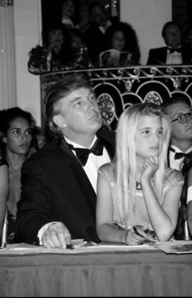 Donald Trump and Ivanka Trump. (Photo by the LifePicture Collection/Getty Images)