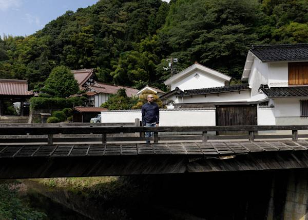 The atmospheric town of Omori in Shimane Prefecture