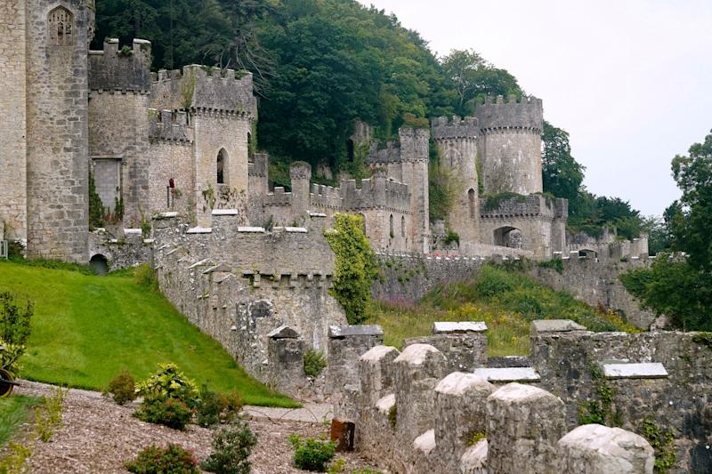 The Welsh castle is the new setting of I'm a Celeb (Getty Images)