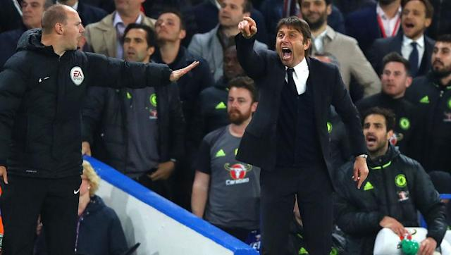 ​Chelsea boss Antonio Conte suffered mixed emotions on Wednesday night after seeing his side beat Manchester City 2-1 at Stamford Bridge. The Blues held on to all three point in spite of City's persistent pressure, but Conte was left feeling frustration after Spurs came from 1-0 down in the 88th minute to beat Swansea 3-1 at the Liberty Stadium. ​Tottenham's resilient comeback sees the gap between both London clubs remain at seven points, while Liverpool lag back in third five points behind...
