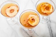"""Looking for a <a href=""""https://www.epicurious.com/holidays-events/whats-a-good-cocktail-for-thanksgiving-gallery?mbid=synd_yahoo_rss"""" rel=""""nofollow noopener"""" target=""""_blank"""" data-ylk=""""slk:Thanksgiving cocktail"""" class=""""link rapid-noclick-resp"""">Thanksgiving cocktail</a> to sip while you watch the Canadian Football League? This fall beauty features tart Riesling, nutty figs, fresh apple cider, and bourbon. <a href=""""https://www.epicurious.com/recipes/food/views/paradise-apple-thanksgiving-cocktail-bourbon-cider?mbid=synd_yahoo_rss"""" rel=""""nofollow noopener"""" target=""""_blank"""" data-ylk=""""slk:See recipe."""" class=""""link rapid-noclick-resp"""">See recipe.</a>"""