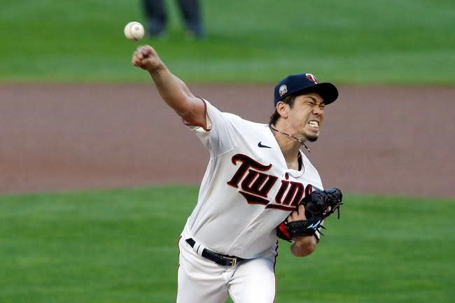 Maeda comes 3 outs shy of no-hitter for Twins vs Brewers