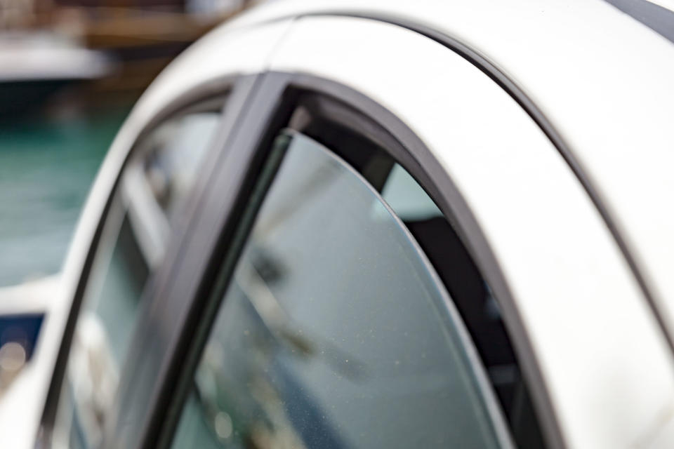 Close up shot of slightly ajar car window. Source: Getty Images