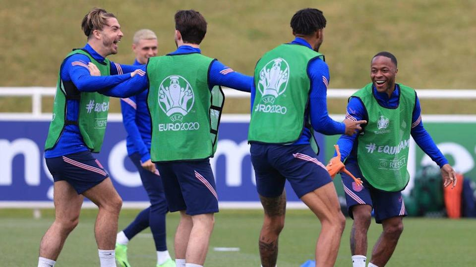 Ingleses têm bom poderio ofensivo | England Training Session and Press Conference - UEFA Euro 2020: Group D | Marc Atkins/Getty Images