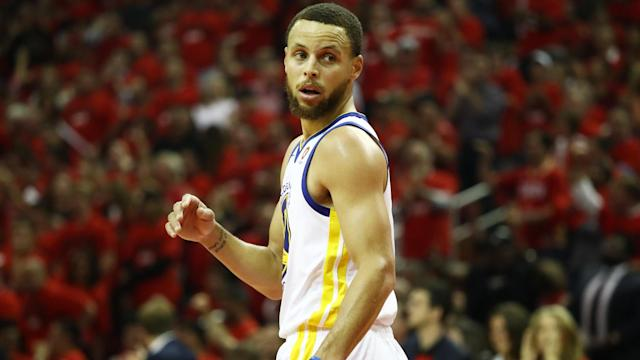 Stephen Curry and Kevin Durant led the Golden State Warriors to a huge win over the Houston Rockets.