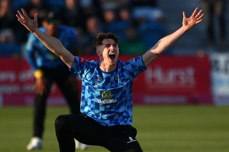 George Garton could feature for England against Sri Lanka in Bristol (Getty Images)