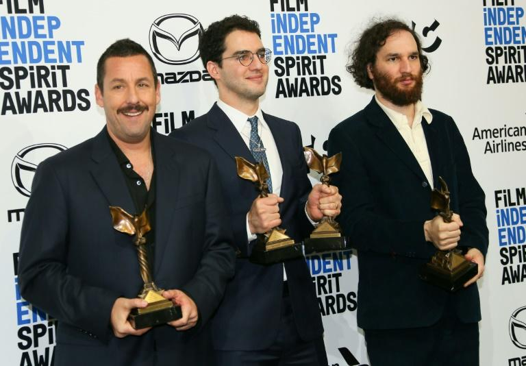 "Adam Sandler won best male lead for his portrayal of a gambling addict in ""Uncut Gems,"" while Benny and Josh Safdie won best director"