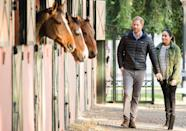 <p>On their last royal visit before the Duchess gave birth to Archie Harrison, Prince Harry and Meghan Markle visited Morocco. Here, the couple explores the Moroccan Royal Federation of Equestrian Sports in Rabat, Morocco. </p>