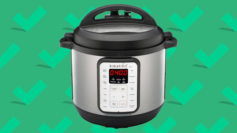 Instant Pots are on sale for a significant discount right now.