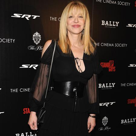 Courtney Love serious about style