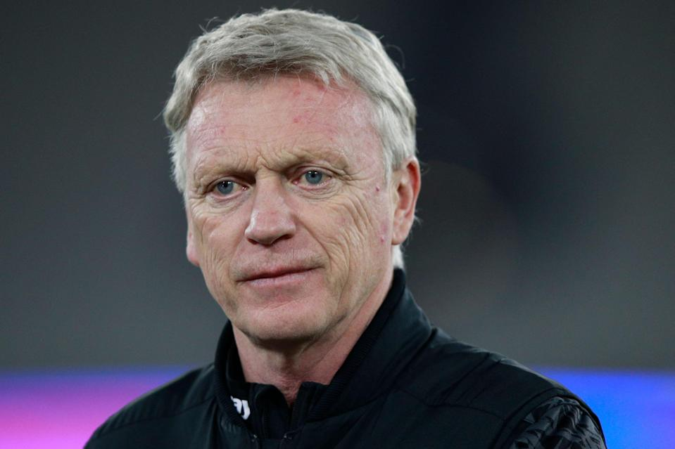 "<p>Moyes: ""Not a good performance by our standards""</p> (POOL/AFP via Getty Images)"