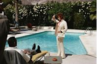 <p>Sean Connery and Jill St. John on the set of 'Diamonds Are Forever', 1971. </p>