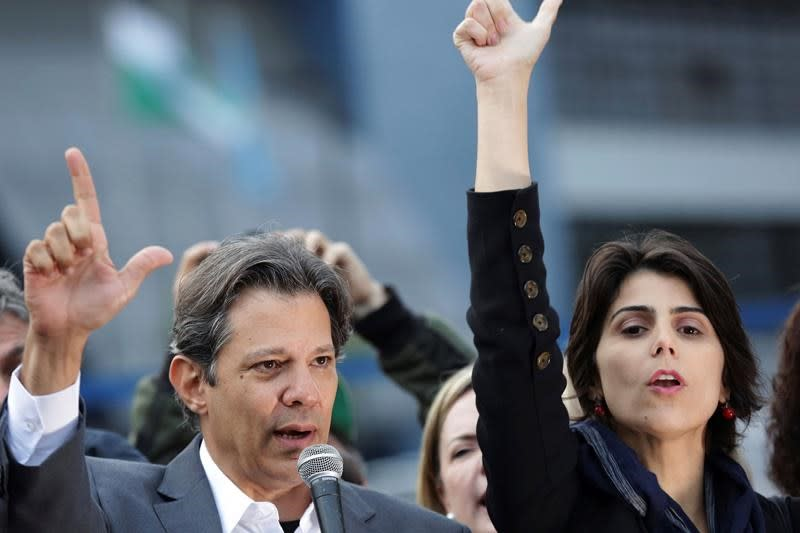 Da Silva's candidate vows to be his own man in Brazil