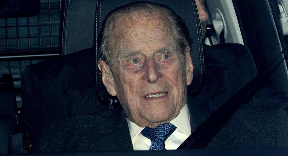 Prince Philip was involved in the crash on Thursday afternoon (PA, file pic)