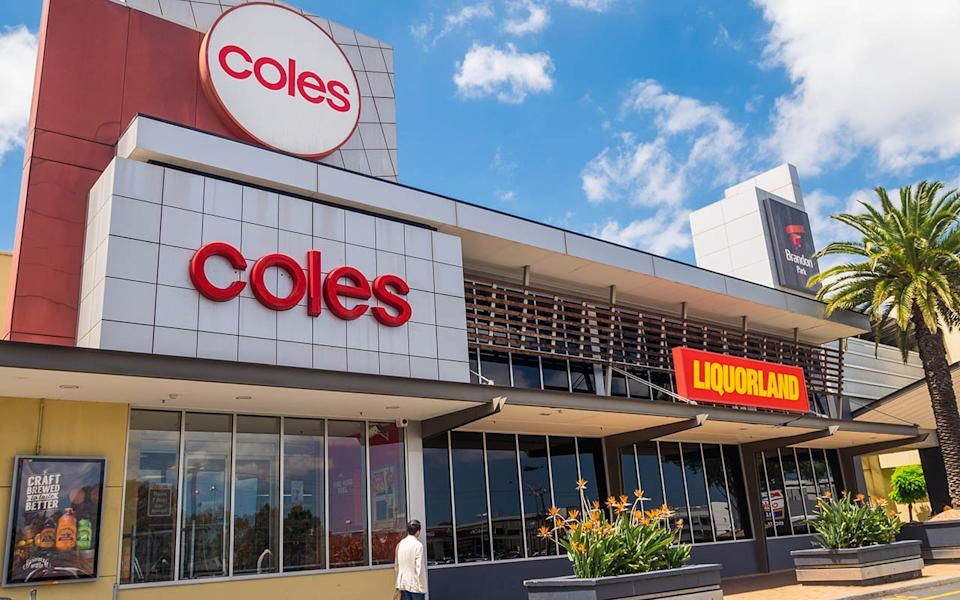 Coles store front. Source: Getty Images