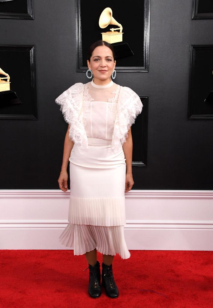 <p>Natalia Lafourcade attends the 61st annual Grammy Awards at Staples Center on Feb. 10, 2019, in Los Angeles. </p>