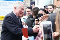 """<p>But Meghan isn't the only royal family member who's let the autograph rule slide—in 2010, Prince Charles signed his name for a young boy who lost his home to a flood in Cornwall. """"'Can I be really cheeky please sir and can I have your autograph for my young son Tom?"""" <a href=""""http://www.dailymail.co.uk/news/article-1331747/Prince-Charles-breaks-royal-protocol-signs-autograph-Cornwall-flood-hit-family.html"""" rel=""""nofollow noopener"""" target=""""_blank"""" data-ylk=""""slk:his mother asked the prince"""" class=""""link rapid-noclick-resp"""">his mother asked the prince</a>. Not only did he oblige, but Charles also apologized for the """"shaky writing,"""" saying he """"never writes standing up.""""</p>"""