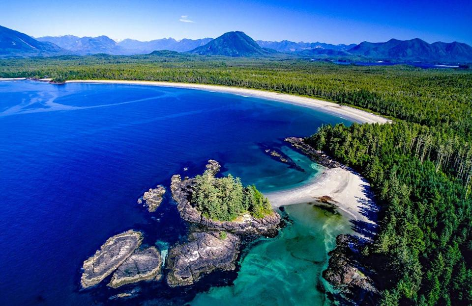 "<span class=""caption"">Clayoquot Sound, part of the Tla-o-qui-aht territory, has been the site of numerous protests against logging the forest. Meares Island was declared a Tribal Park in 1984.</span> <span class=""attribution""><span class=""source"">(Shutterstock)</span></span>"
