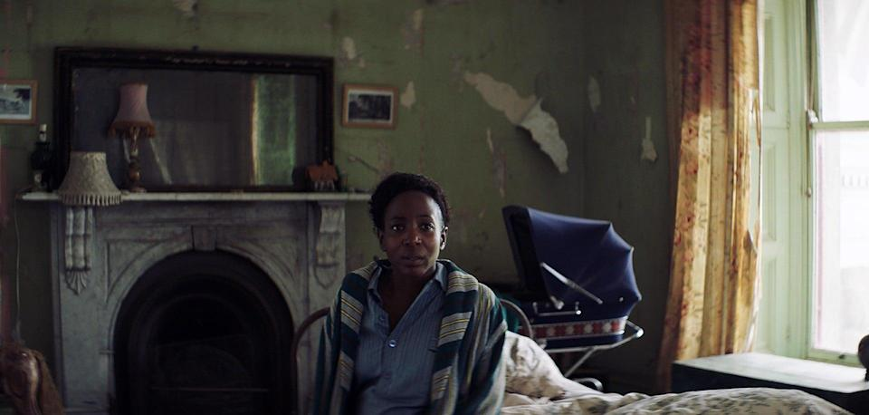 """<p>Remember how incredibly traumatic, but also empowering, Evelyn's (Blunt) silent birthing scene is in <strong>A Quiet Place</strong>? Well, <strong>Kindred</strong> features an equally fierce mom in a terrifying situation. In this film, an expectant mother (Tamara Lawrance) is trapped by her dead husband's family in their remote, crumbling estate in the English countryside, and must fight her way to freedom before they can take her baby from her. </p> <p><a href=""""https://www.hulu.com/watch/b8e1bd04-2d2f-478b-8ed6-60afcd8ab37b"""" class=""""link rapid-noclick-resp"""" rel=""""nofollow noopener"""" target=""""_blank"""" data-ylk=""""slk:Watch Kindred on Hulu."""">Watch <strong>Kindred</strong> on Hulu.</a></p>"""