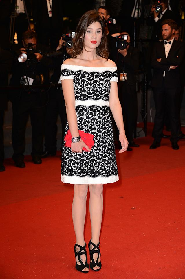 CANNES, FRANCE - MAY 22:  Actress Astrid Berges-Frisbey attends the 'Only God Forgives' Premiere during the 66th Annual Cannes Film Festival at Palais des Festivals on May 22, 2013 in Cannes, France.  (Photo by Ian Gavan/Getty Images)