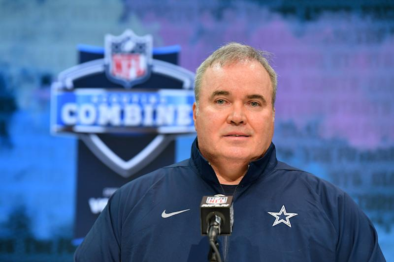 Head coach Mike McCarthy of the Dallas Cowboys