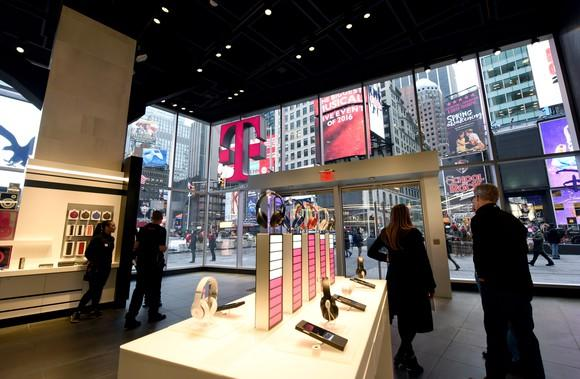 T-Mobile retail store in New York City