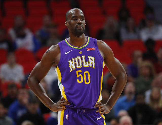 Emeka Okafor has played six games this season after not playing the previous four seasons. (AP)